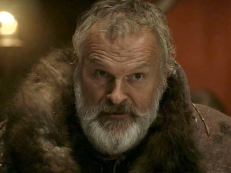 """Clive Mantle in his role as Lord Greatjon Umber on HBO's """"Game of Thrones."""""""