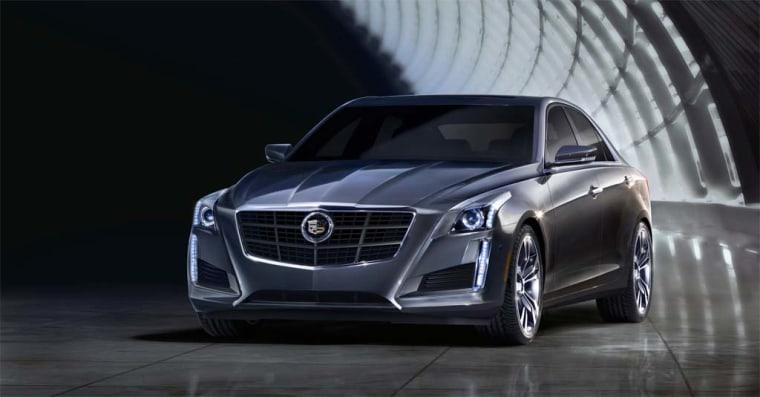 Image: 2014 Cadillac CTS