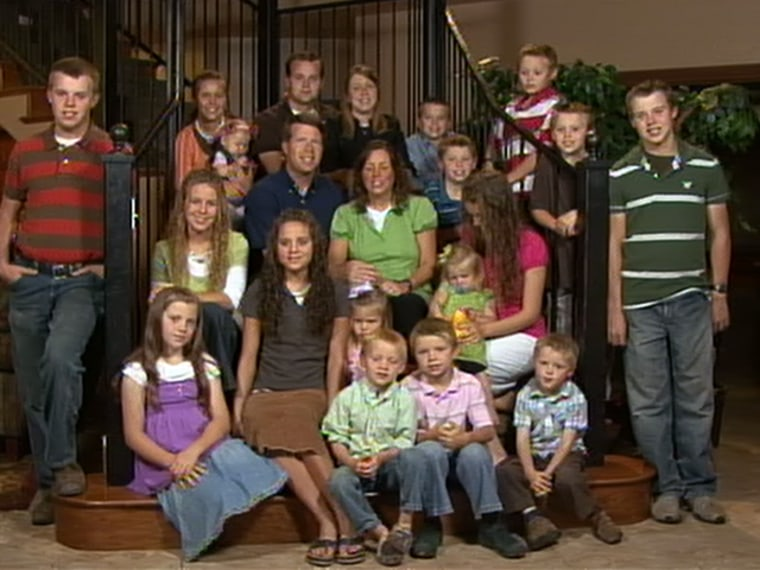 Image: The Duggar family