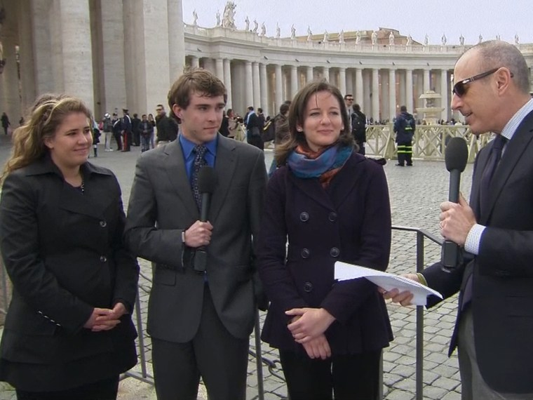 Vatican interns