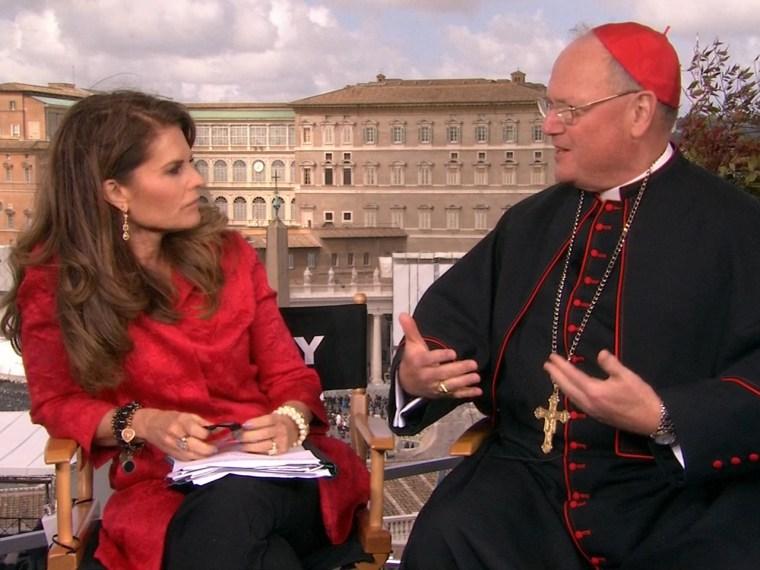 Cardinal Dolan, Maria Shriver