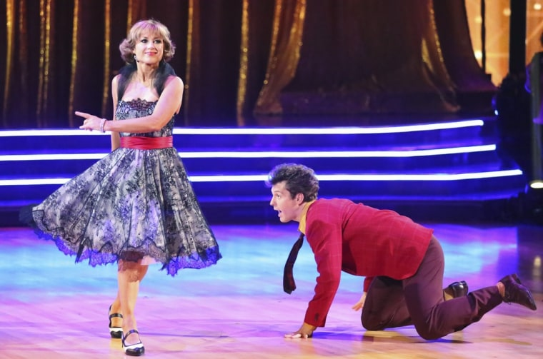 Dorothy Hamill and Tristan MacManus' jive on Monday was filled with flaws due to her injury.