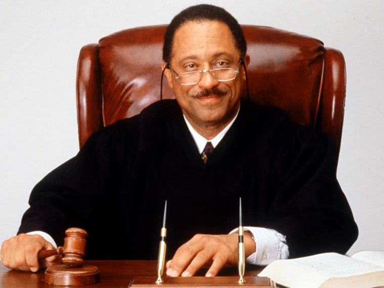 Judge Joe Brown.
