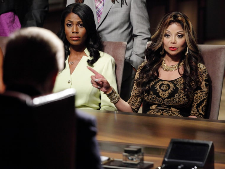 Omarosa and La Toya Jackson faced off in the boardroom. Will they face off in a courtroom too?