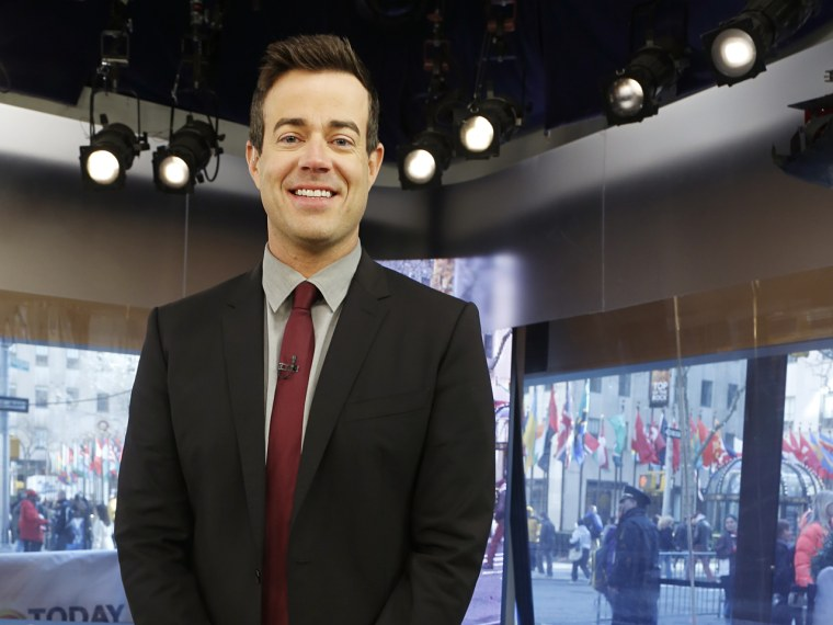 Carson Daly Thursday, March 28, 2013, in New York, N.Y. (Rebecca Davis / TODAY)