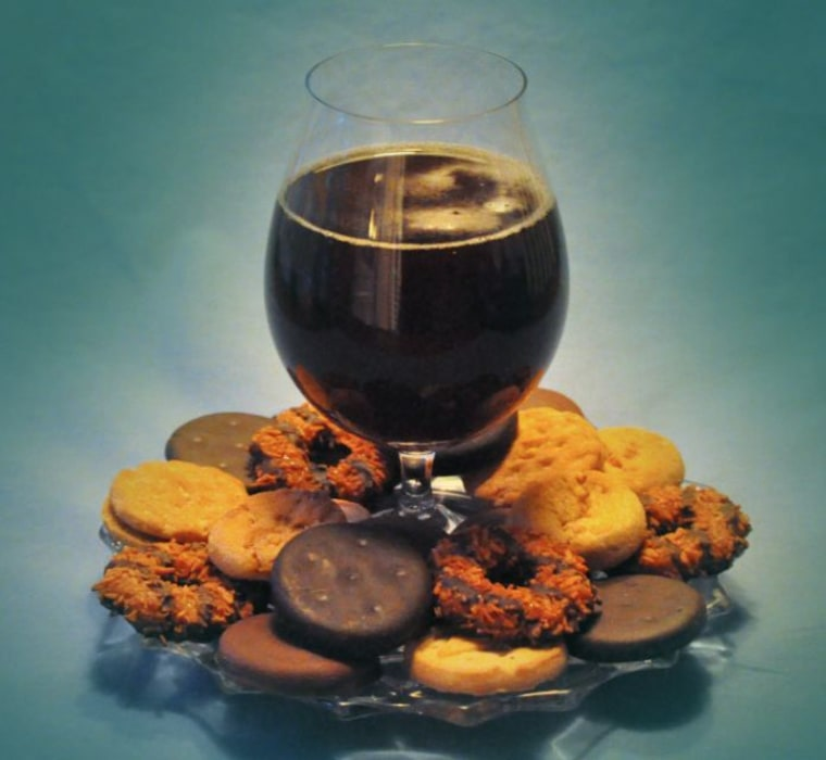 Beer and cookies can be a perfect pairing to bring out nuances of flavor.