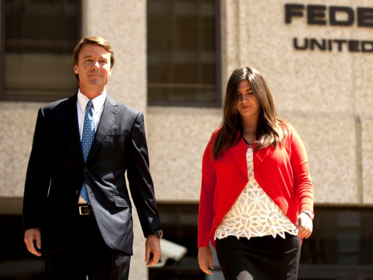 Cate stood by her dad through his campaign finance-fraud trial.