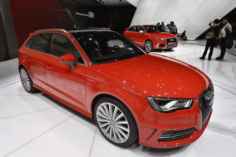 Audi is hoping to attract younger buyers with its Audi A3 sedan.