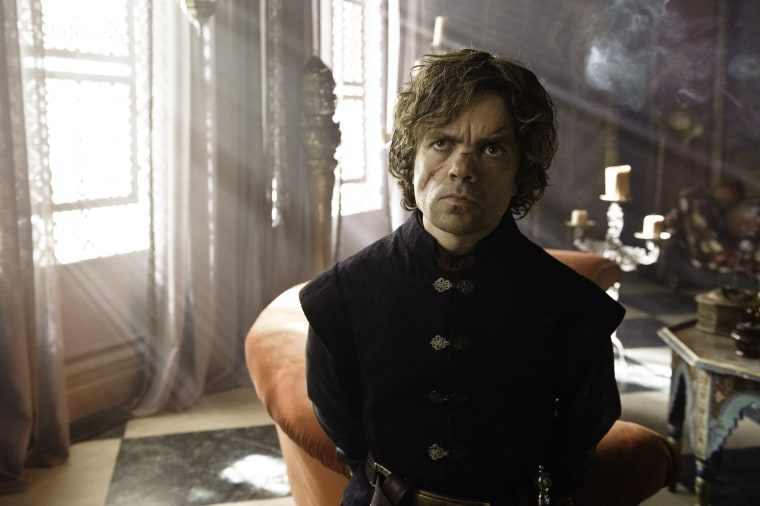 Peter Dinklage as Tyrion Lannister on