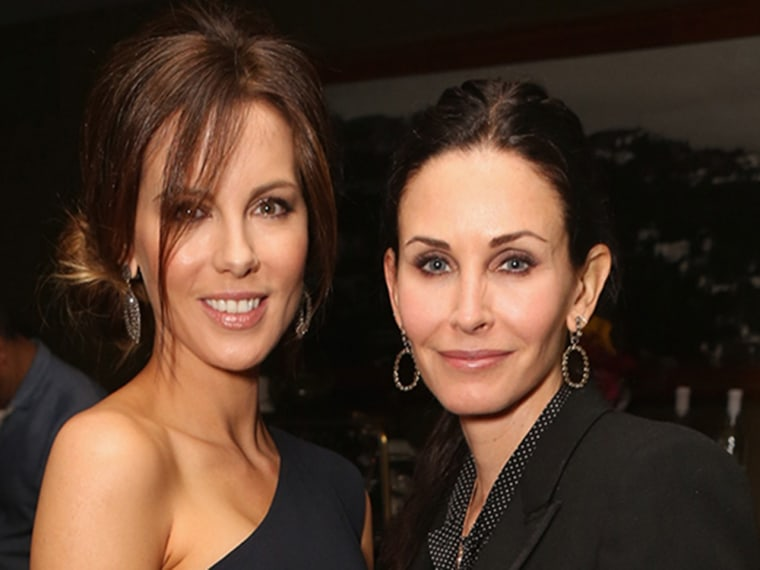 Image: Kate Beckinsale and Courteney Cox