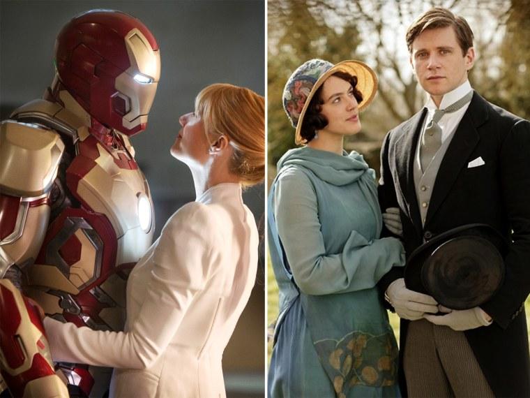 """Iron Man 3"" meets ""Downton Abbey"""