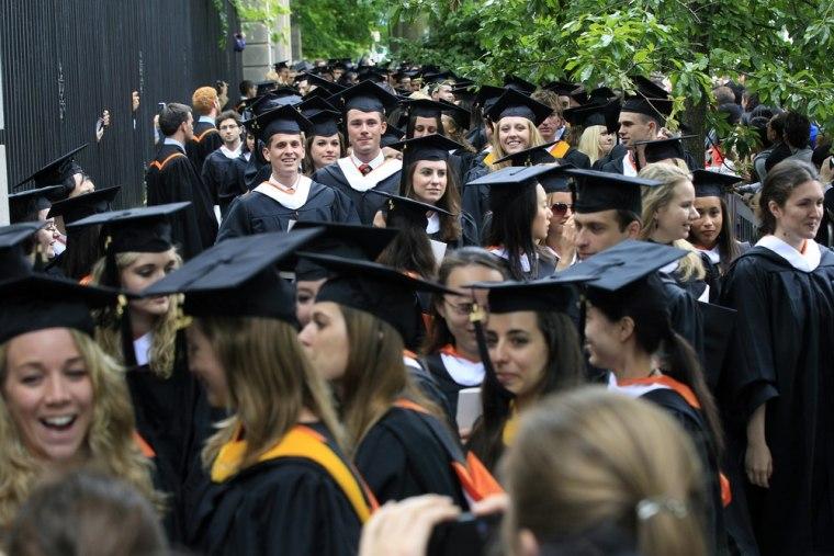 Princeton graduates
