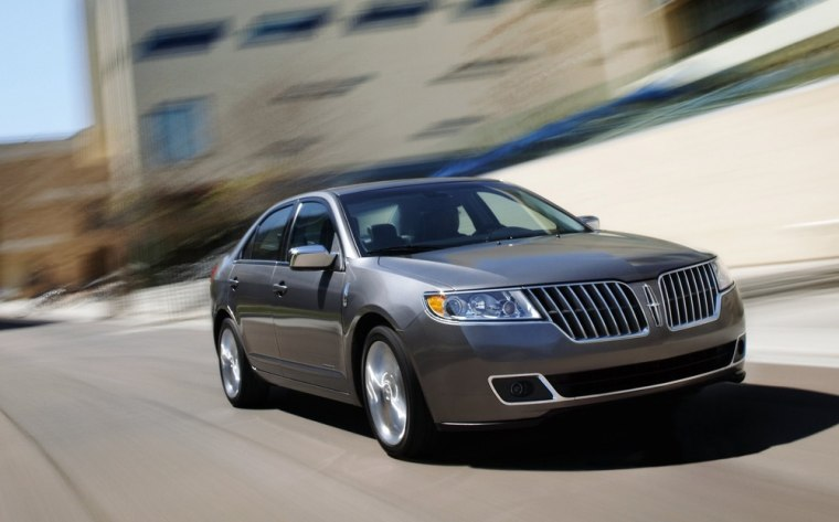 Limping Lincoln Brand Gets Bump From Sedan Sales