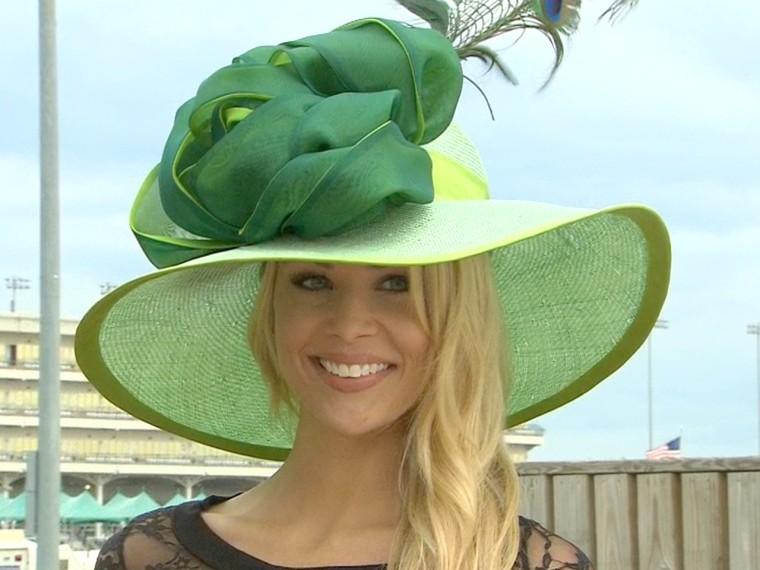 "The \""Sprite\"" comes in the season's most popular color, green."