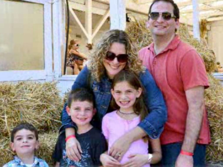 Blogger and author Jill Smokler, her husband and their three wonderful, darling (and sometimes just the teeniest bit stressful) children. Is three really the most stressful number of kids?