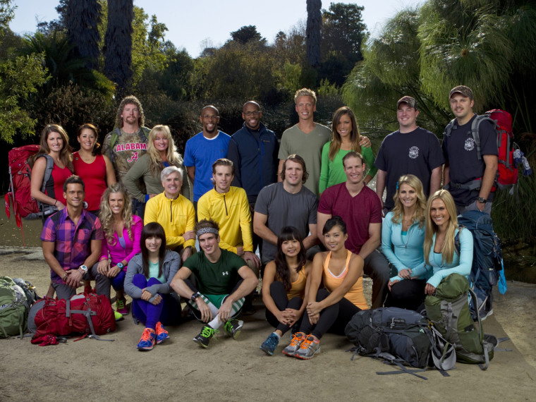 """The cast of the 22nd season of \""""The Amazing Race.\"""""""