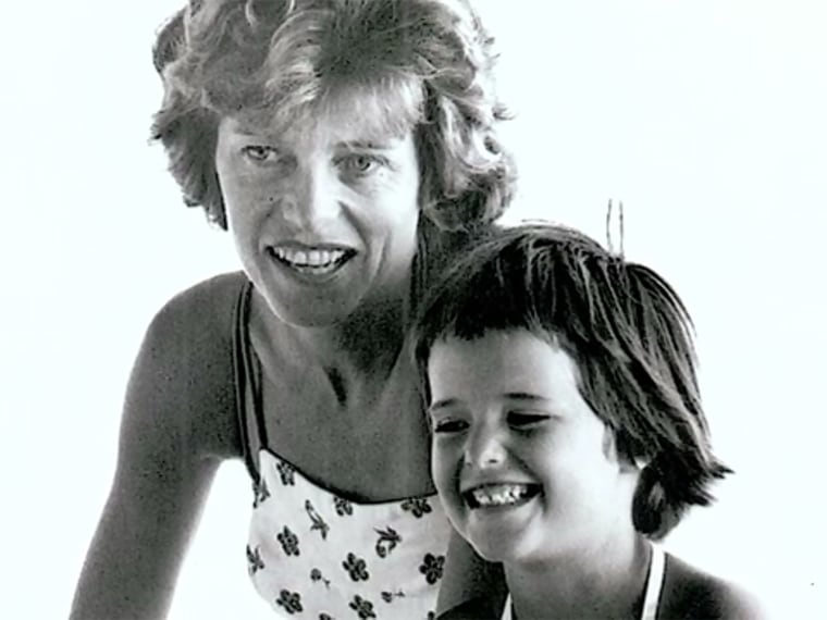 Maria Shriver and her mother, Eunice Kennedy Shriver, who taught her she could do anything she set her mind to.