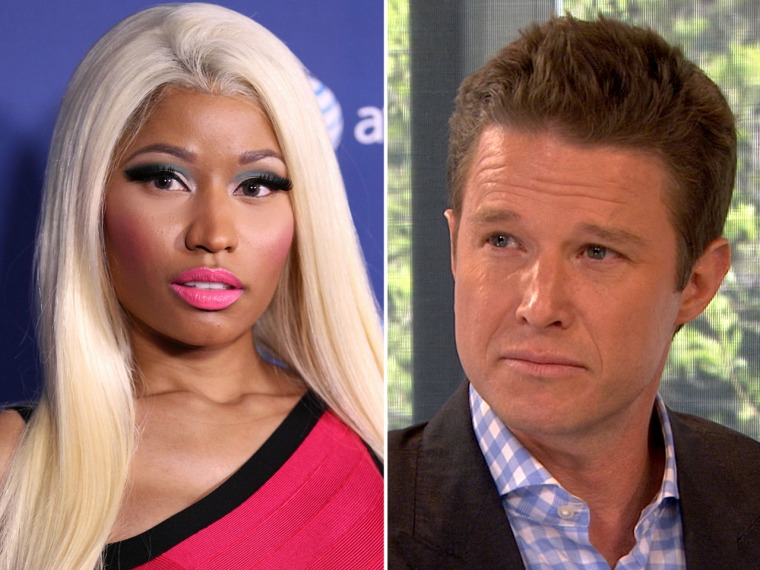 Billy Bush explains his Twitter feud with Nicki Minaj