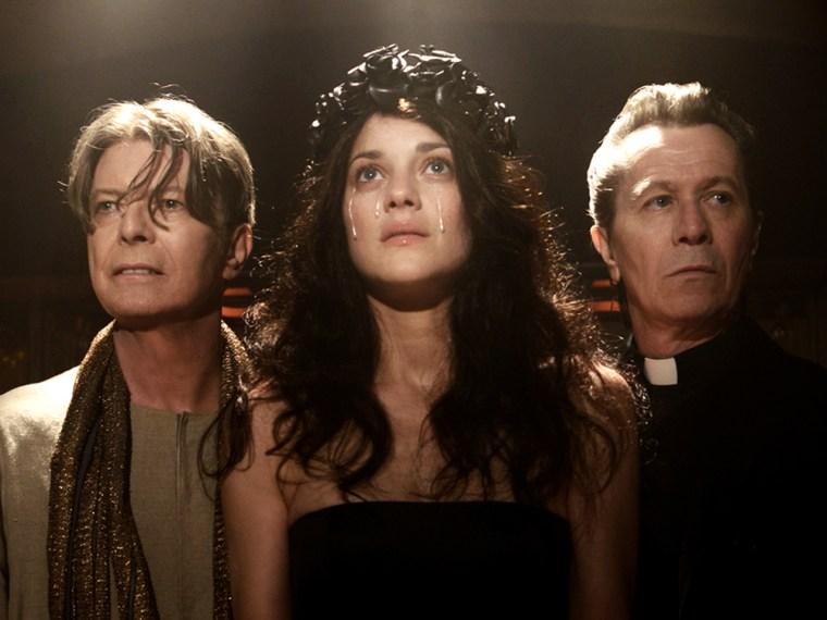 David Bowie, Marion Cotillard, Gary Oldman.