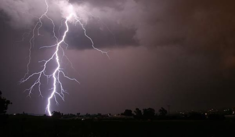 Lightning flashes on Earth about 100 times per second, but what triggers it in thunderstorms remains mostly unknown.