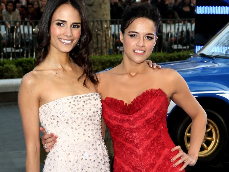 Image: Jordana Brewster and Michelle Rodriguez