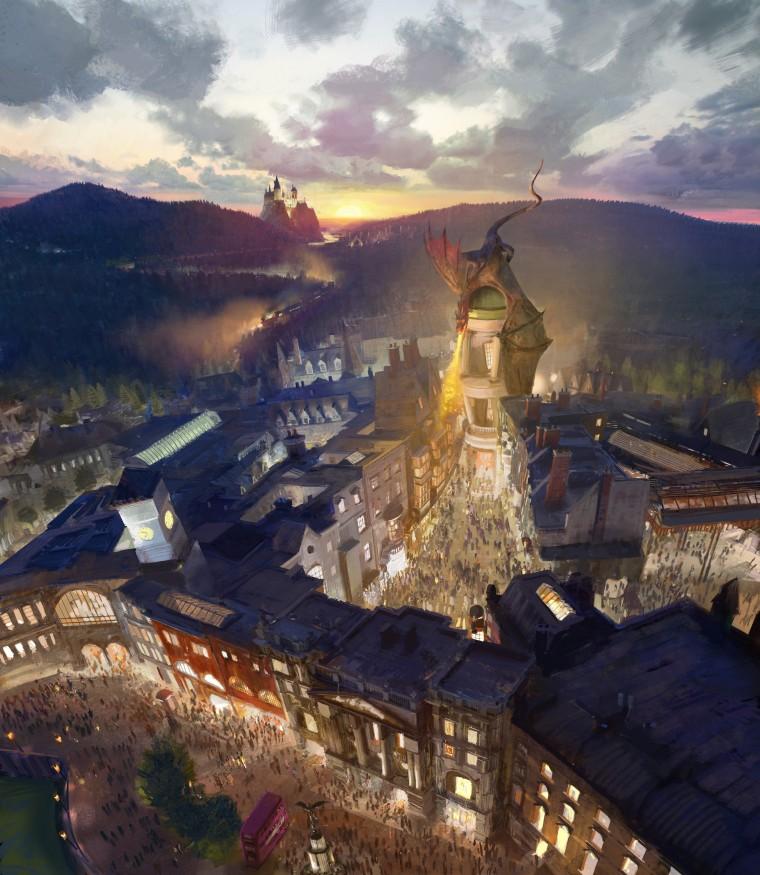 Expecto Patronum! Potter expansion brings Diagon Alley to Orlando