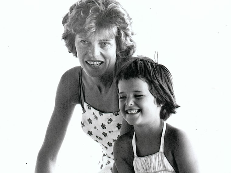Maria Shriver and Eunice Kennedy Shriver