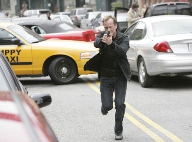 "Jack Bauer (Kiefer Sutherland) in \""24.\"""