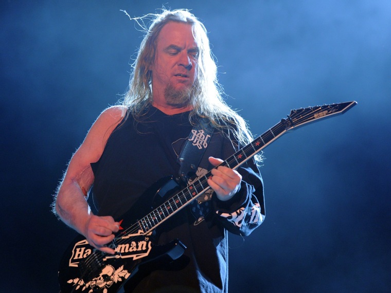 Jeff Hanneman of Slayer in 2011.