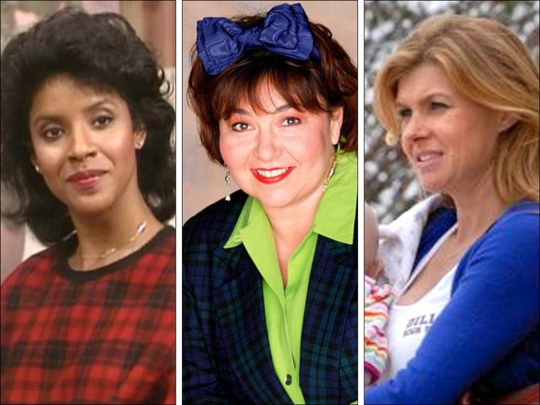 Clair Huxtable, Roseanne, Tami Taylor