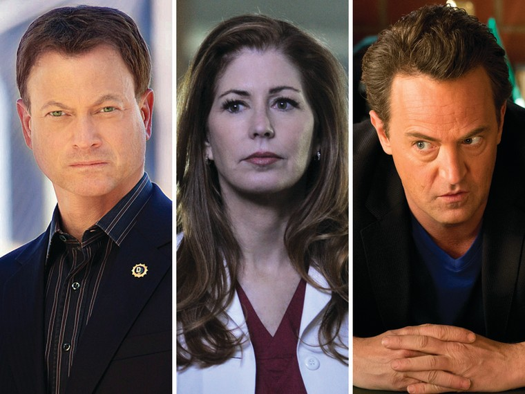 """Gary Sinise on \""""CSI: NY,\"""" Dana Delany on \""""Body of Proof\"""" and Matthew Perry on \""""Go On.\"""""""