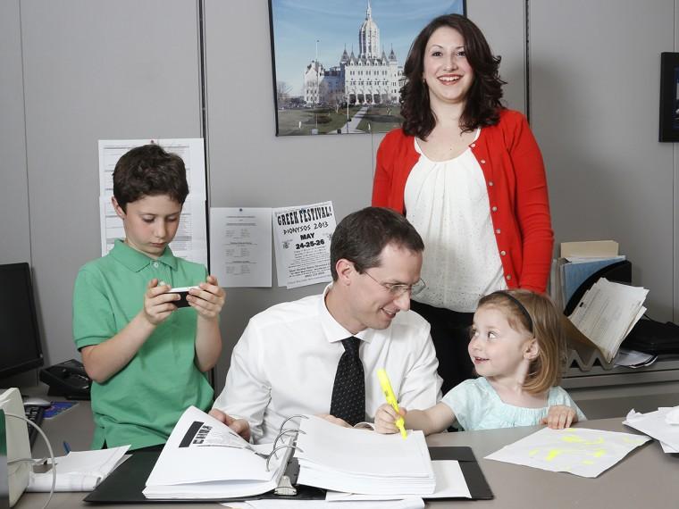 Dena Fleno and her family