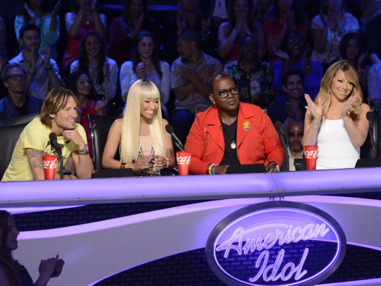 "Image: ""American Idol"" judges"