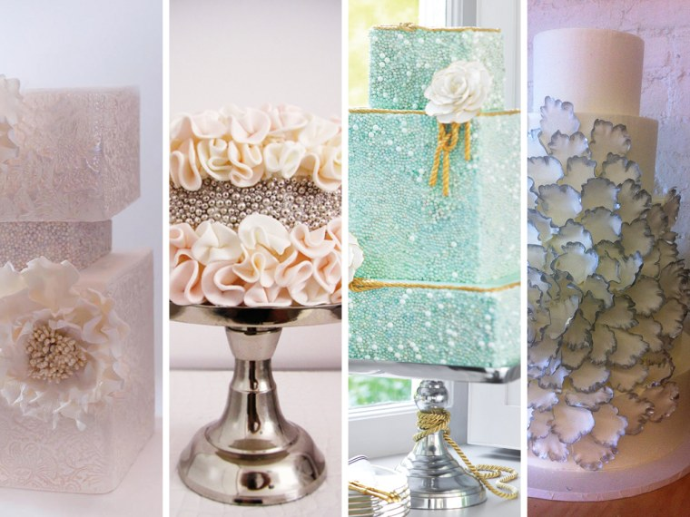 TODAY.com readers voted on four tasty creations for Bobbie Thomas' wedding.