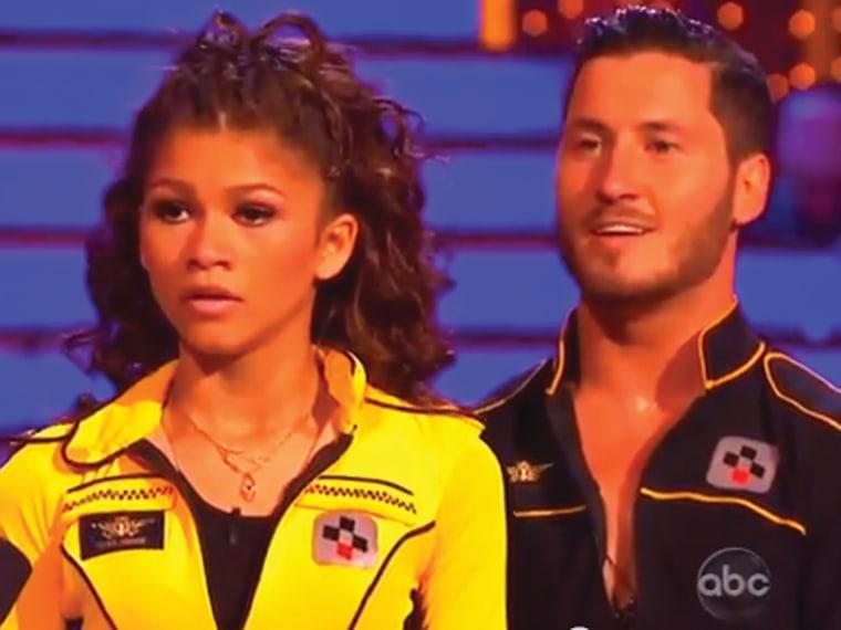"Zendaya and Val Chmerkovskiy on ""Dancing With the Stars."""