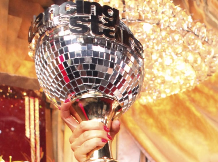 Image: Mirror ball trophy