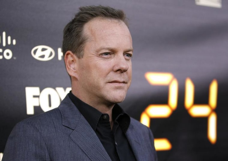 """Actor Kiefer Sutherland will reprise his role as Jack Bauer for the return of \""""24.\"""""""