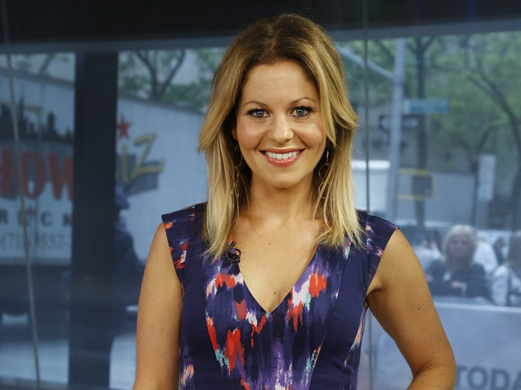 Candace Cameron Wednesday, May 15, 2013, in New York, N.Y. (Rebecca Davis / TODAY)