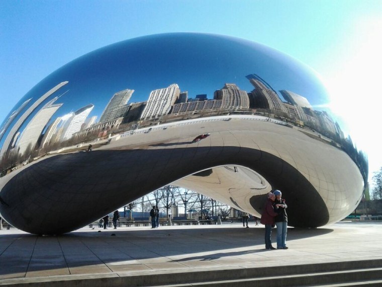 mirror mirror chicago viewers beckon today anchors from the bean
