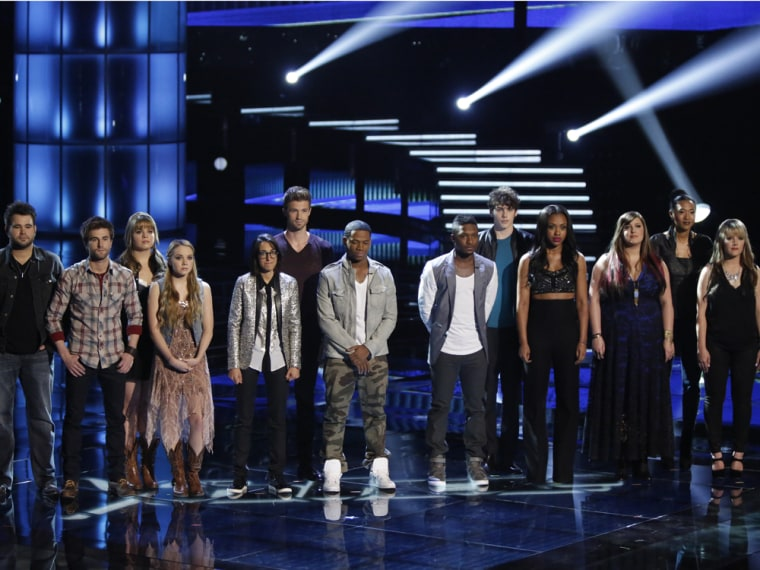 Image: 'The Voice' top 12