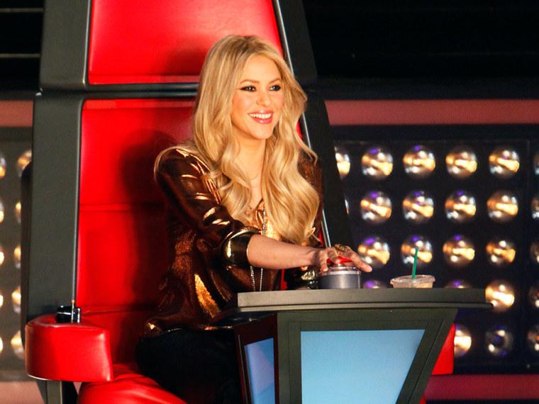 "\""The Voice's\"" Shakira."