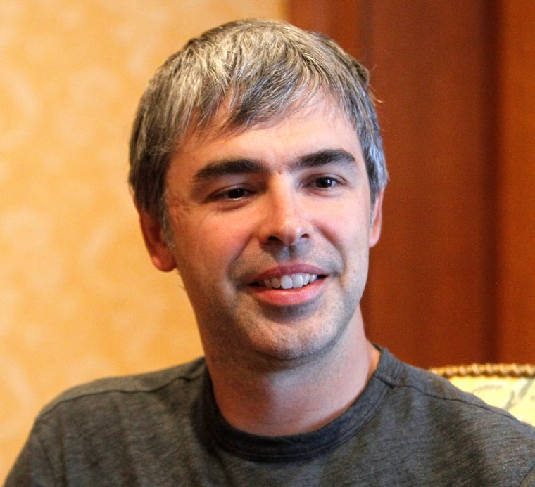 No more long monologues for Google co-founder Larry Page. The 40-year-old chief executive says both his vocal cords have some degree of paralysis, which he says was caused by a virus.