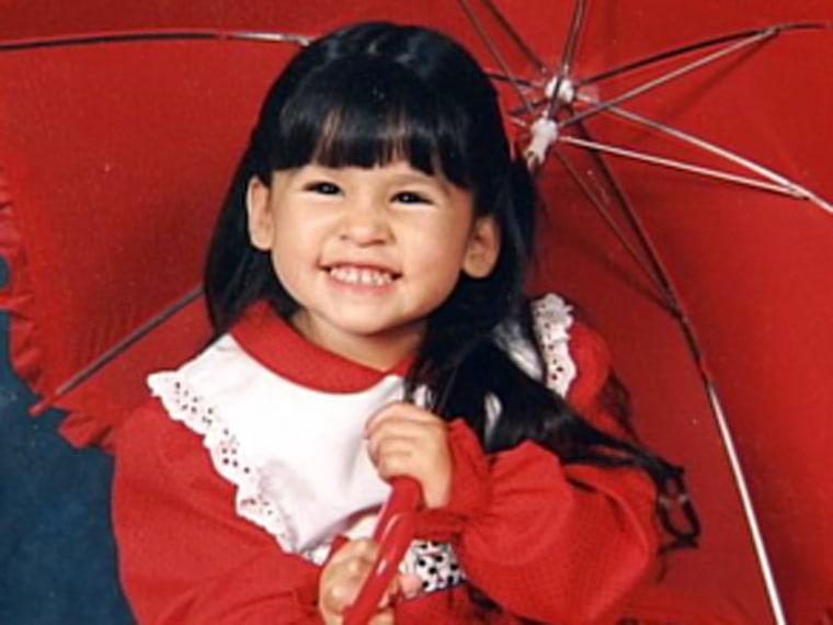 Image: Rachael Clark as a young girl