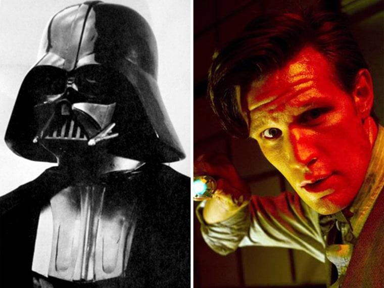 Darth Vader vs. Doctor Who.