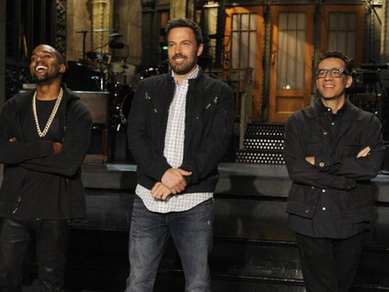 Image: Ben Affleck 'SNL' promo