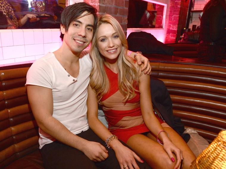Ben Jorgensen and Katrina Bowden.