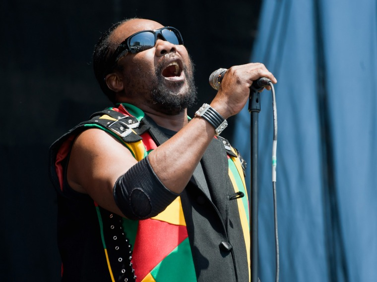 Toots Hibbert of Toots and the Maytals.