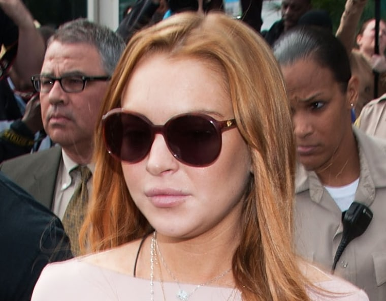 Lindsay Lohan sued for $5 million over leggings clothing line
