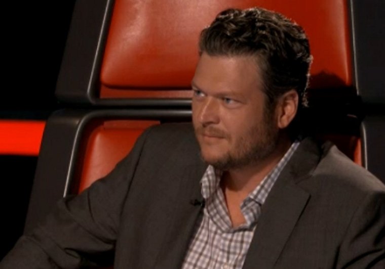 """Blake Shelton shares his thoughts on the devastation in Oklahoma on """"The Voice."""""""