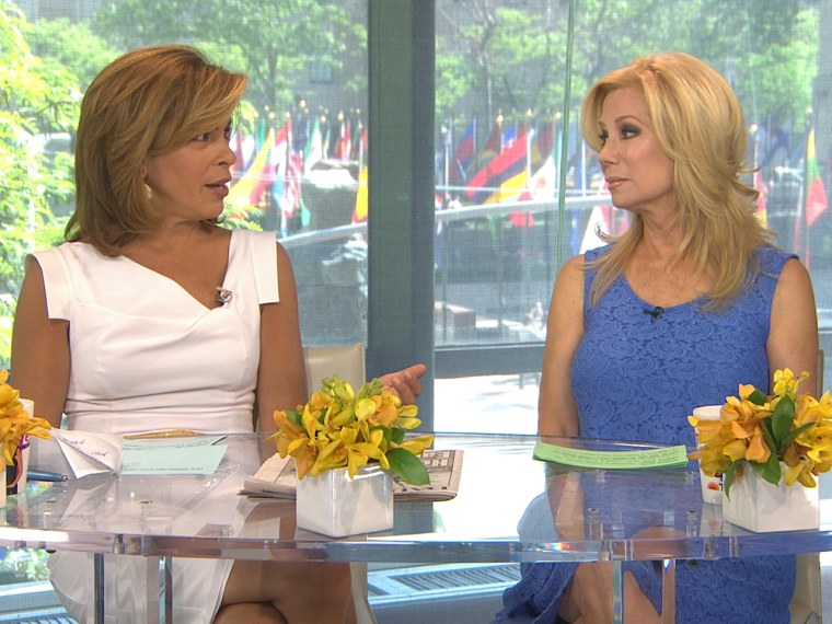 Kathie Lee and Hoda talk about the tornado in Oklahoma.